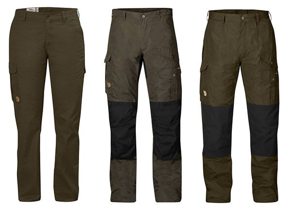 Fjallraven Womens Trousers