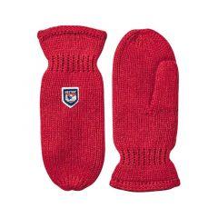 Hestra Basic Wool Mitt red